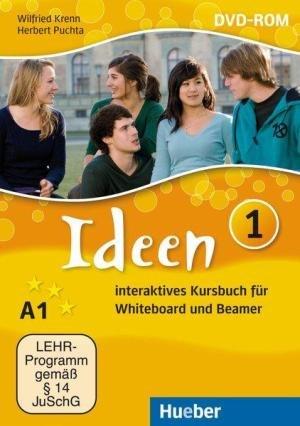 Ideen 1 DVD-ROM Interaktives Kursbuch für Whiteboard und Beamer / Ресурси для інтерактивної дошки