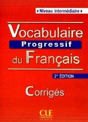 Vocabulaire Progressif du Français 2e Édition Intermédiaire Corriges
