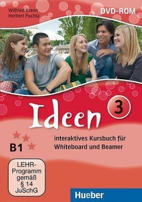 Ideen 3 Interaktives Kursbuch DVD-ROM für Whiteboard und Beamer / Ресурси для інтерактивної дошки