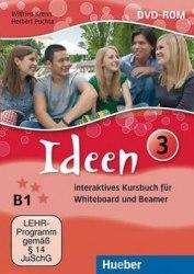 Ideen 3 Interaktives Kursbuch DVD-ROM für Whiteboard und Beamer Hueber