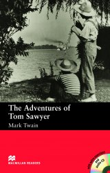 Macmillan Readers: The Adventures of Tom Sawyer with audio CD