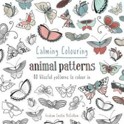 Calming Colouring: Amimal Patterns / Розмальовка