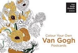 Colour Your Own Van Gogh Postcards / Набір листівок
