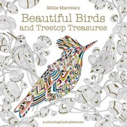 Millie Marotta's Beautiful Birds and Treetop Treasures Colouring Book / Розмальовка