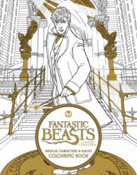 Fantastic Beasts and Where to Find Them: Magical Characters and Places Colouring Book / Розмальовка
