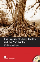 Macmillan Readers: The Legends of Sleepy Hollow and Rip Van Winkle with Audio CD and extra exercises