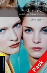 Sister Love and Other Crime Stories with Audio CD / Книга з Аудіо диском