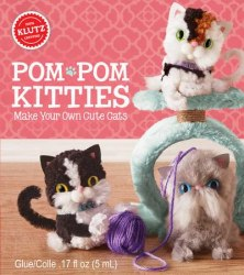 Klutz: Pom-pom Kitties / Набір для творчості