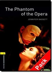 The Phantom of the Opera with Audio CD / Книга з Аудіо диском