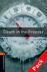 Death in the Freezer with Audio CD / Книга з Аудіо диском