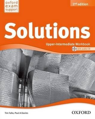 Solutions (2nd Edition) Upper-Intermediate Workbook / Робочий зошит