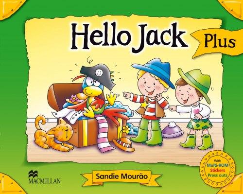 Hello Jack Pupil's Book Pack Plus Macmillan / Підручник для учня