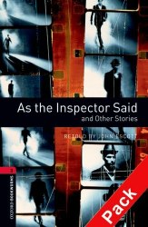 As the Inspector Said and Other Stories with Audio CD Oxford Bookworms Library