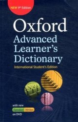 Oxford Advanced Learner's Dictionary 9th Edition International Student's Edition with iSpeaker and iWriter DVD-ROM / Словник