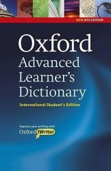 Oxford Advanced Learner's Dictionary 8th Edition International Student's Edition with iWriter CD-ROM Oxford University Press