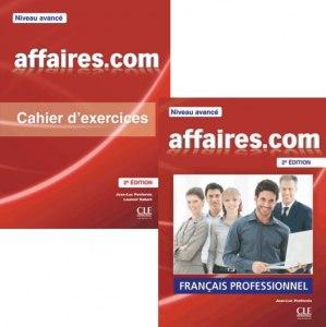 Affaires.com (2e Edition) від видавництва Cle International