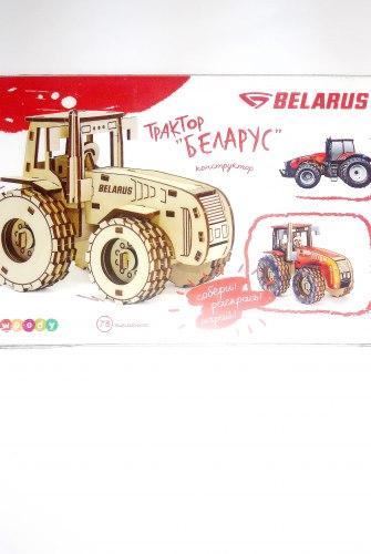 """Игрушка деревянная """"Трактор """"Беларус"""""""