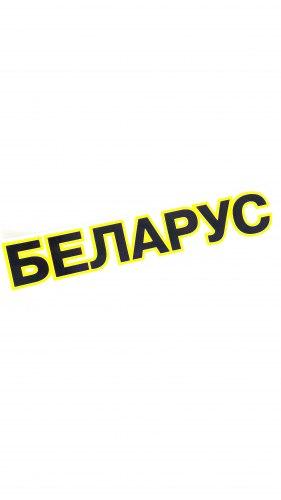 Наклейка BELARUS ФН-3900001-01