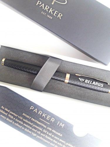 Перьевая ручка PARKER IM PREMIUM BLACK GT