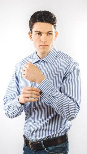 Мужская сорочка Nadex collection man's shirts 672013И