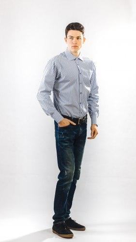 Мужская сорочка Надэкс 672013И