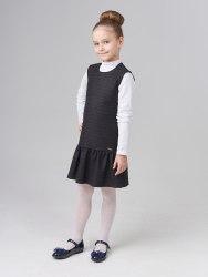 Сарафан для девочек младшей школьной группы Модница 038014И