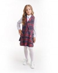 Сарафан для девочек младшей школьной группы Модница 415014