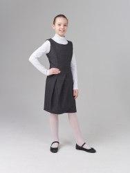 Сарафан для девочек старшей школьной группы Модница 009014И