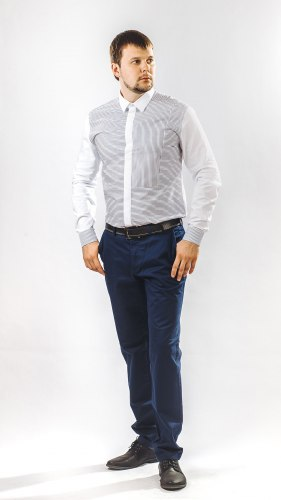 Мужская сорочка Nadex collection man's shirts 622012И
