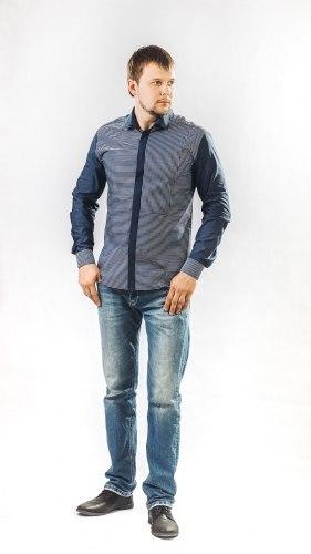 Мужская сорочка Надэкс 622012И