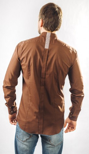 Мужская сорочка Надэкс 623012И