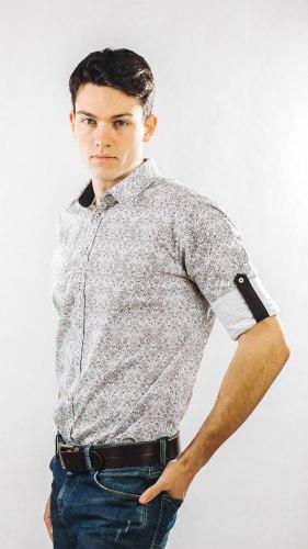 Мужская сорочка Надэкс 648015И