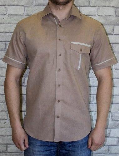 Сорочка верхняя мужская Nadex Men's Shirts Collection 700012