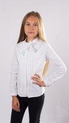 Блузка для девочек младшей школьной группы Модница 587012И