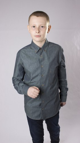 Сорочка для мальчиков подростковой группы Надэкс 735012И