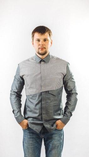 Мужская сорочка Надэкс 625022И