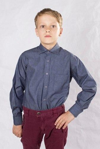 Сорочка для мальчиков младшей школьной группы Озорник 535032И