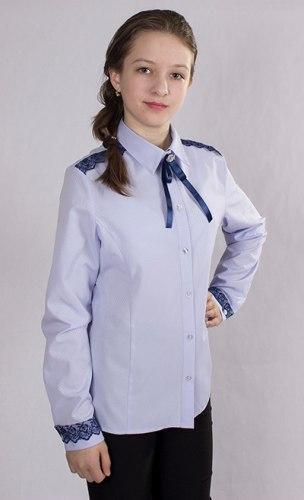 Блузка для девочек старшей школьной группы Модница 787012И