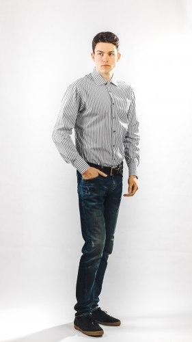 Мужская сорочка Nadex collection man's shirts 672023И