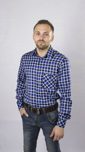 Мужская сорочка Надэкс 838014И