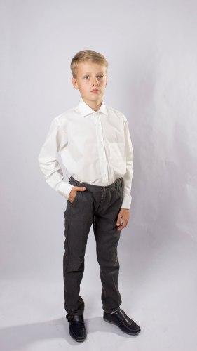 Сорочка для мальчиков младшей школьной группы Озорник 537052И