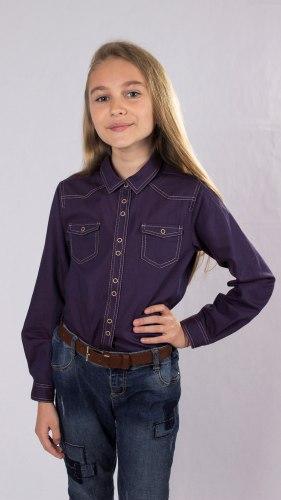 Блузка для девочек младшей школьной группы Модница 665012И