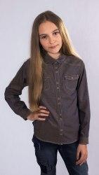 Блузка для девочек младшей школьной группы Модница 665012