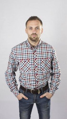 Мужская сорочка Nadex collection man's shirts 527014И