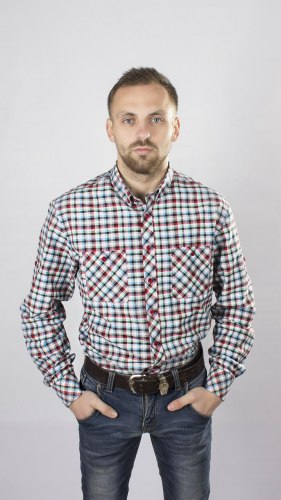 Мужская сорочка Надэкс 527014И