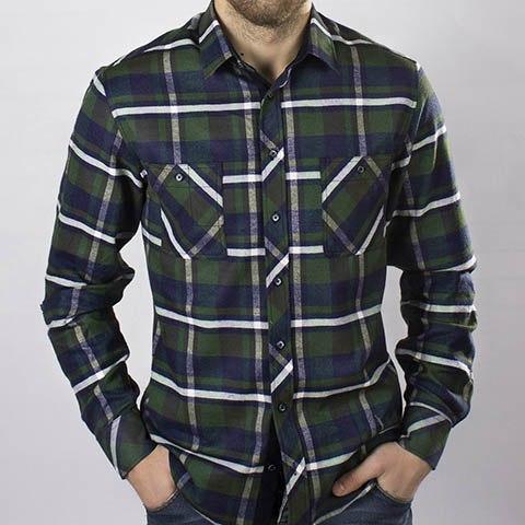 Сорочка верхняя мужская Nadex Men's Shirts Collection 445074И