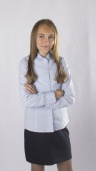 Блузка для девочек младшей школьной группы Модница 26012