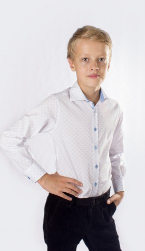 Сорочка для мальчиков старшей школьной группы Озорник 902025И