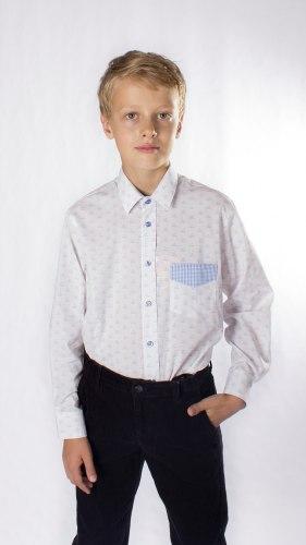 Сорочка для мальчиков старшей школьной группы Озорник 944015И
