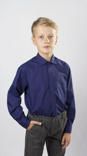 Сорочка для мальчиков младшей школьной группы Озорник 533032И
